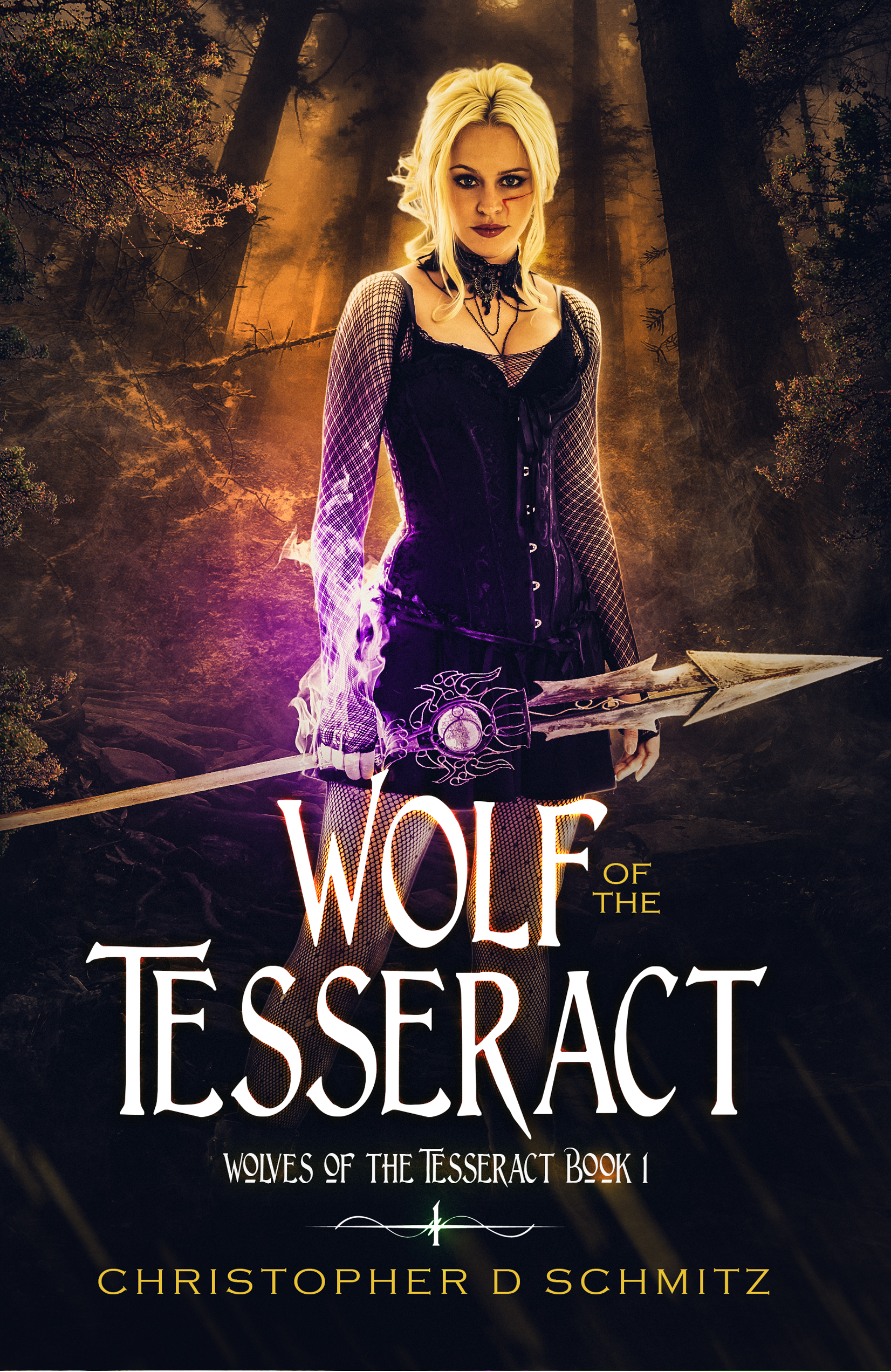 Wolf of the Tesseract by Christopher D. Schmitz
