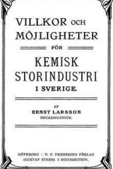 Villkor och möjligheter för kemisk storindustri i Sverige