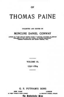 The Writings of Thomas Paine, Volume III by Thomas Paine
