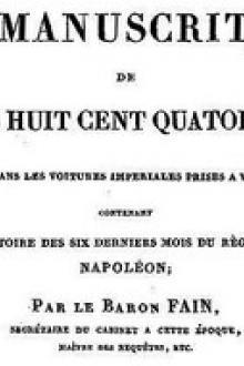 Manuscrit de 1814