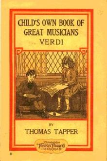 Verdi : The Story of the Little Boy who Loved the Hand Organ by Thomas Tapper