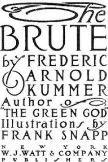 The Brute by Frederic Arnold Kummer