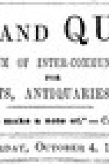 Notes and Queries, Vol. IV, Number 101, October 4, 1851