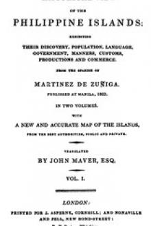 An Historical View of the Philippine Islands, Vol 1 (of 2)