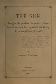 The Sun changes its position in space