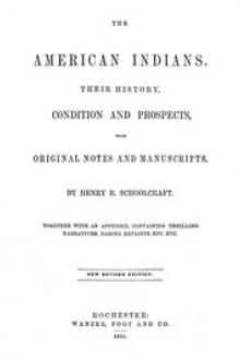 The American Indians by Henry R. Schoolcraft