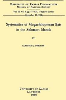 Systematics of Megachiropteran Bats in the Solomon Islands