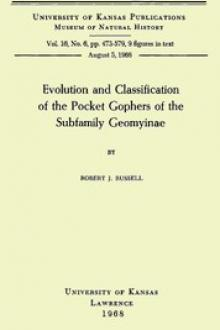 Evolution and Classification of the Pocket Gophers of the Subfamily Geomyinae