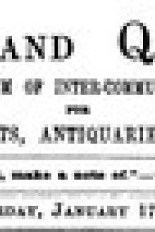 Notes and Queries, Vol. V, Number 116, January 17, 1852