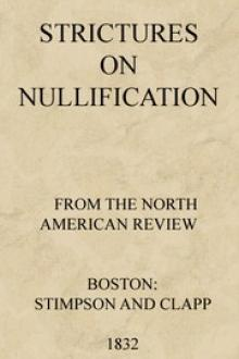 Strictures on Nullification