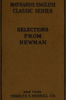 Selections from the Prose Writings of John Henry Cardinal Newman by John Henry Newman
