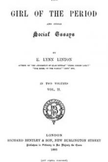 The Girl of the Period, and Other Social Essays, Vol. 2 by Elizabeth Lynn Linton