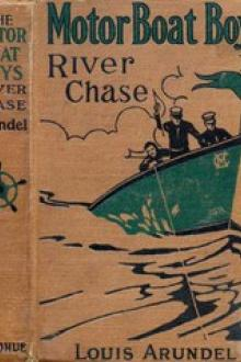 Motor Boat Boys' River Chase by Louis Arundel