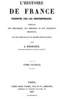 L'Histoire de France racontée par les Contemporains (Tome 1/4)