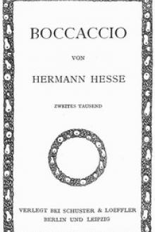 Boccaccio by Hermann Hesse