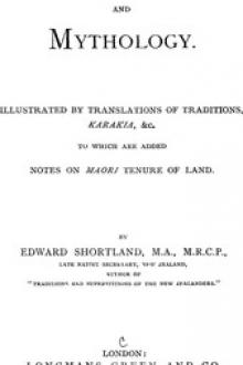 Maori Religion and Mythology by Edward Shortland
