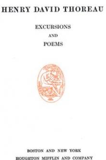 Excursions, and Poems by Henry David Thoreau
