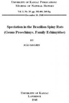 Speciation in the Brazilian Spiny Rats