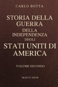 Storia della Guerra della Independenza degli Stati Uniti di America, vol