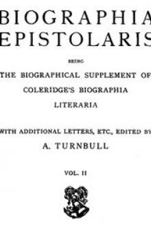 Biographia Epistolaris, Volume 2