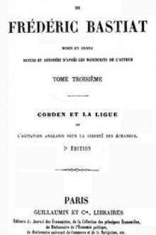 Œuvres Complètes de Frédéric Bastiat, tome 3