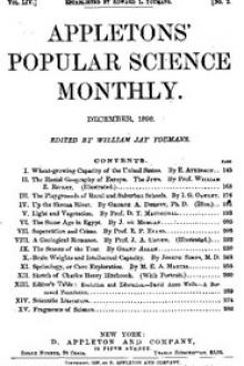 Appletons' Popular Science Monthly, December 1898