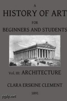 A History of Art for Beginners and Students by Clara Erskine Clement Waters