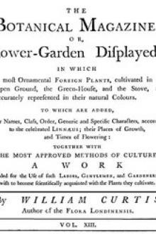 The Botanical Magazine, Vol. 13