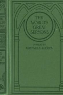 The World's Great Sermons, Volume 09