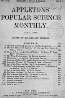 Appletons' Popular Science Monthly, April 1899