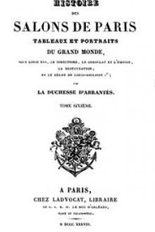 Histoire des salons de Paris (Tome 6/6)