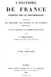L'Histoire de France racontée par les Contemporains (Tome 3/4))