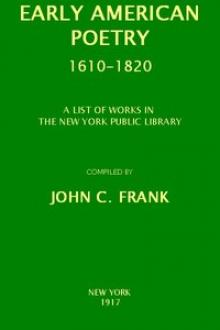 Early American Poetry 1610-1820 by Unknown