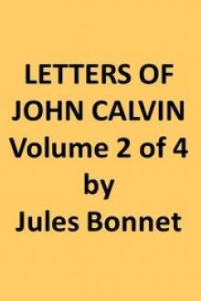 Letters of John Calvin, Volume II