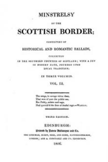Minstrelsy of the Scottish Border, Volume 3 (of 3) by Walter Scott