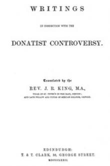 Writings in Connection with the Donatist Controversy by Saint Augustine