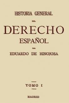 Historia General del Derecho Español