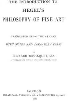 The Introduction to Hegel's Philosophy of Fine Arts by Georg Wilhelm Friedrich Hegel