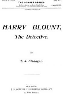 Harry Blount, the Detective by T. J. Flanagan