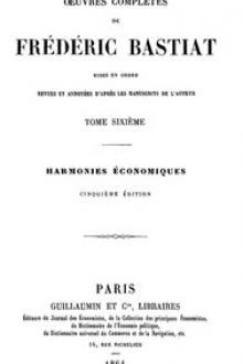Œuvres Complètes de Frédéric Bastiat, tome 6