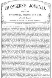 Chambers's Journal of Popular Literature, Science, and Art, No. 687