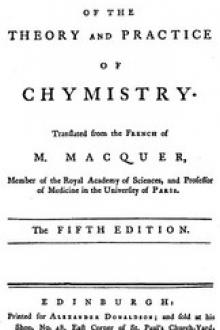 Elements of the Theory and Practice of Chymistry, 5th ed