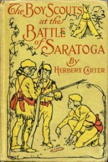 The Boy Scouts at the Battle of Saratoga by active 1909-1917 Carter Herbert