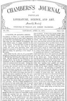 Chambers's Journal of Popular Literature, Science, and Art, No. 695