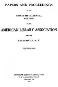 Papers and Proceedings of the Thirty-Fifth General Meeting of the American Library Association