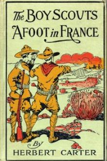 The Boy Scouts Afoot in France by active 1909-1917 Carter Herbert