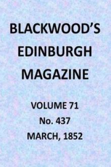 Blackwood's Edinburgh Magazine, Volume 71, No