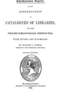 On the Construction of Catalogues of Libraries and Their Publication by Means of Separate, Stereotyped Titles