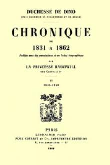 Chronique de 1831 à 1862, Tome 2