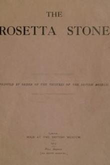 The Rosetta Stone by Ernest Alfred Wallis Budge